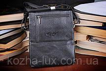 Мужская сумка из натуральной кожи, Италия, фото 3