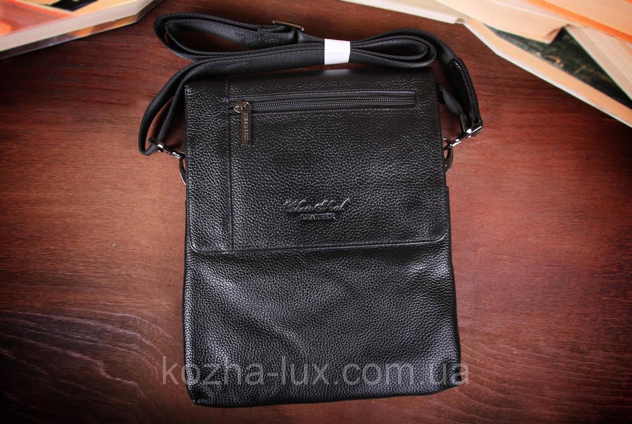 Мужская сумка из натуральной кожи, Италия