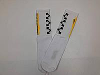 Носки-Гольфы высокие Off-White XXX белые