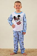 Пижама теплая с начесом для мальчика