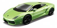 Модель авто Lamborghini Gallardo LP560-4 2008 белый, светло-зеленый металлик 1:32