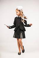 Пиджак школьный для девочек, размеры 30, 32, 34, 36. (П-60)