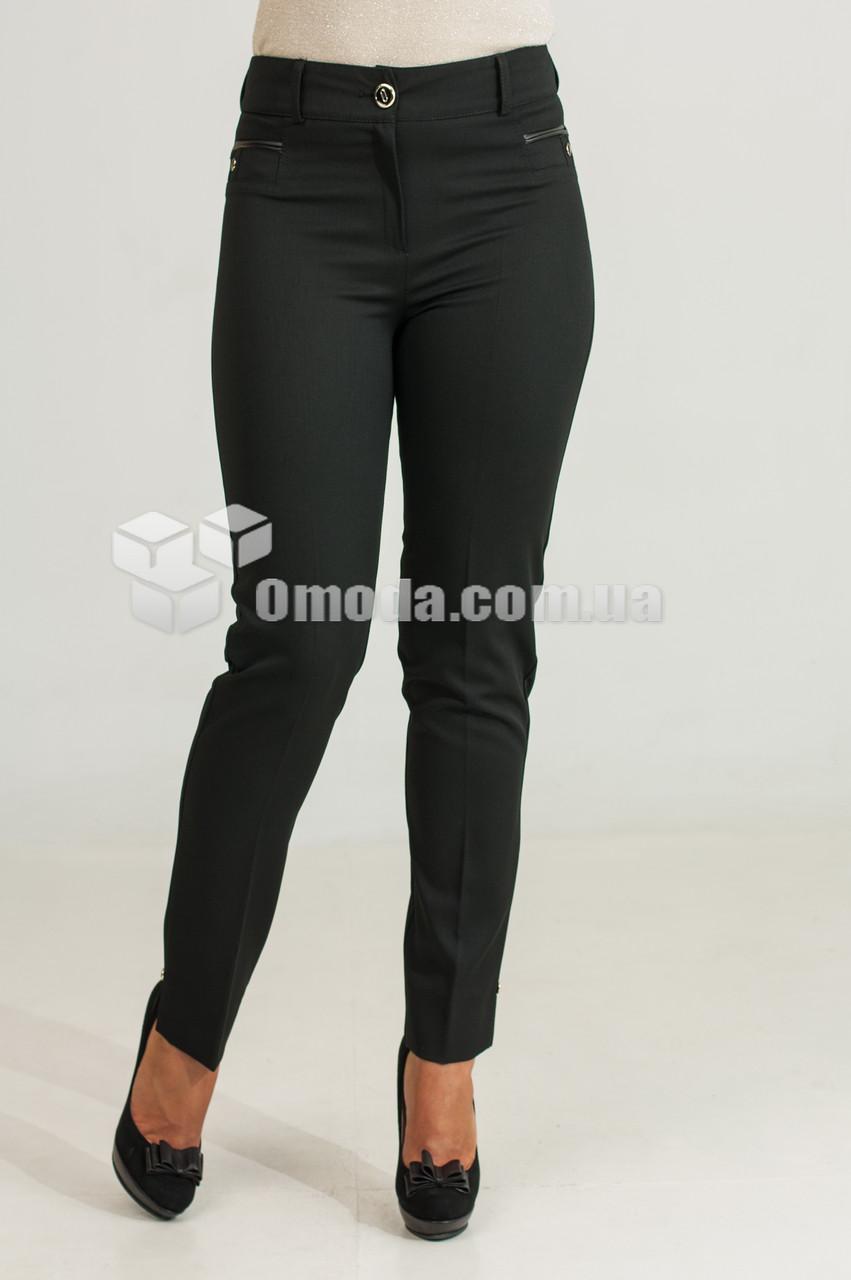 Женские класичиские брюки Флорида черного цвета