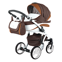 Детская универсальная коляска 2 в 1 Adamex Barletta New B-9 (адамекс барлетта)