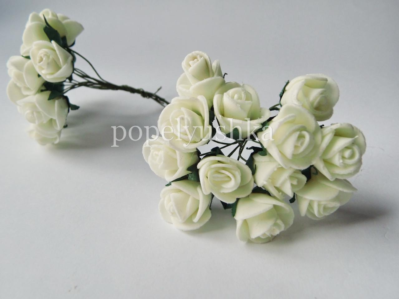 Троянди латексові шампань 2 см