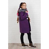 Пальто кашемировое детское для девочки 333 дет, фото 1
