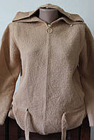 Курточка альпака с капюшоном