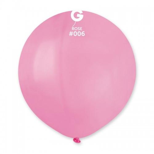"""Латексна кулька пастель рожевий 19""""/ 06 / 48см Rose"""