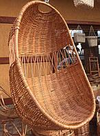 Кресло кокон плетеное подвесное