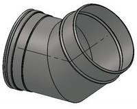 Колено 45° и 90° из нержавеющей стали (Версия-Люкс)