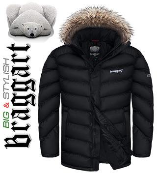Куртки зимние прямые больших размеров
