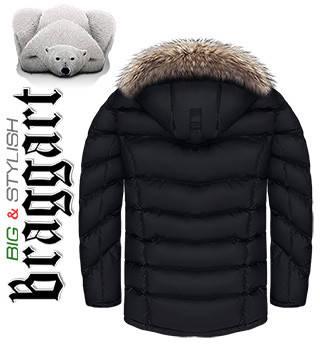 Куртки зимние прямые больших размеров, фото 2