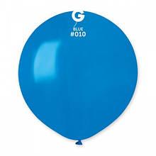 "Латексна кулька пастель синій 19""/ 10 / 48см Blue"