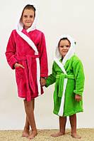Халат детский махра/велсофт (разные расцветки), фото 1