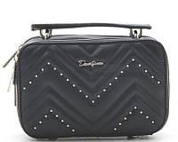 Женский клатч D.Jones 5416 black David Jones (Дэвид Джонс) - оригинальные сумки, клатчи и рюкзаки, фото 1