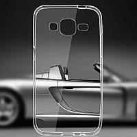 Чехол силиконовый Ультратонкий для Samsung G7102 Galaxy Grand 2 Duos прозрачный