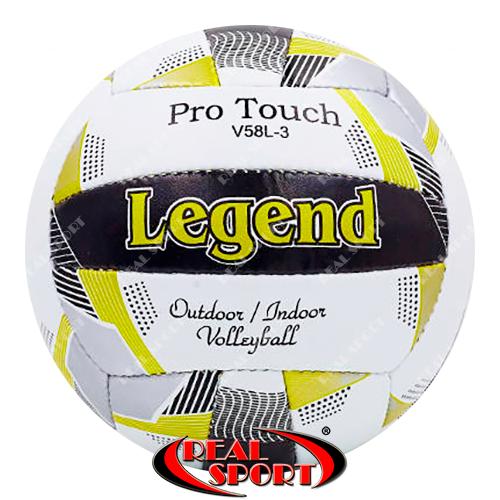 Мяч волейбольный Legend LG5400 (PU, №5, 3 слоя, сшит вручную)