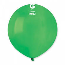 """Латексна кулька пастель зелений 19""""/ 12 / 48см Green"""