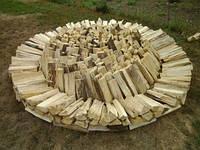 Дрова дубовые колотые с доставкой по Харькову