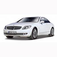 Модель авто Mercedes Benz CL 550 белый 1:32