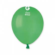 """Латексна кулька пастель зелений  5"""" / 12 / 13см Green"""