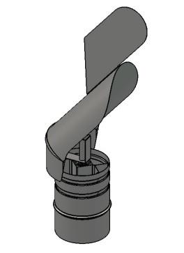 Флюгер из нержавеющей стали (Версия-Люкс)