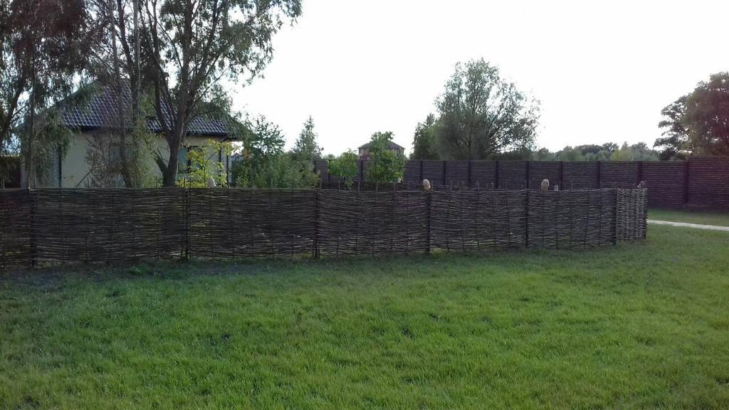 Декоративный забор тын в частном секторе Сеньковка -1