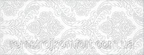 Плитка для стены InterCerama Savoi белая рисунок 23х60