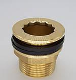 Штуцер врезка в емкость (бак) 1-1/2 дюйма с прокладками., фото 4