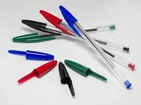 Ручка шариковая BIC кристал синий