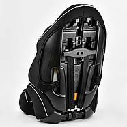 Автокресло универсальное Joy G 1309 с бустером Цвет чёрно-серый 9-36 кг, фото 4