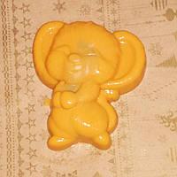 70 г. мыло подарочное в виде мышонка оранжевого цвета. Подари друзьям на новый год крысы 2020