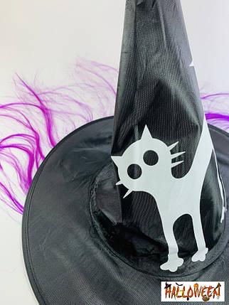 Колпак ведьмы с фиолетовыми волосами, фото 2