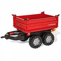 Прицеп для трактора красный Mega Trailer Rolly Toys 123018