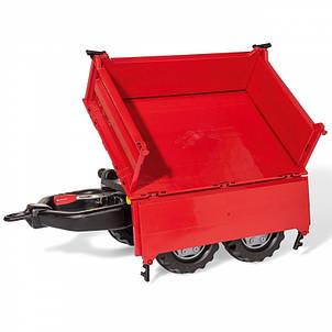 Прицеп для трактора красный Mega Trailer Rolly Toys 123018, фото 2