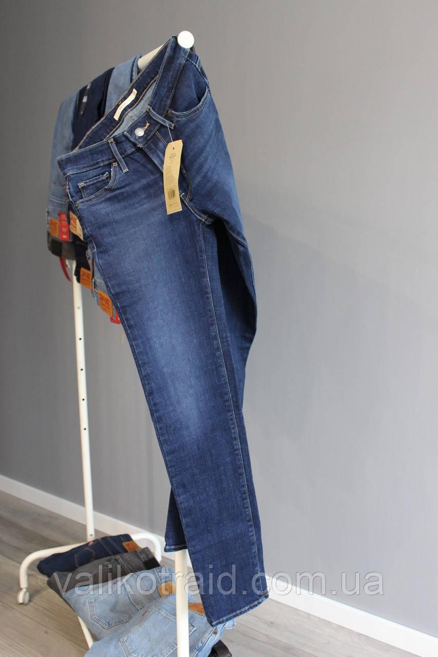 Женские джинсы Levi's 712 Slim W26 L32 оригинал, ЦЕНА 1000 грн