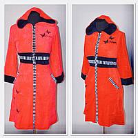 Велюровый халат для модниц молодёжная, фото 1