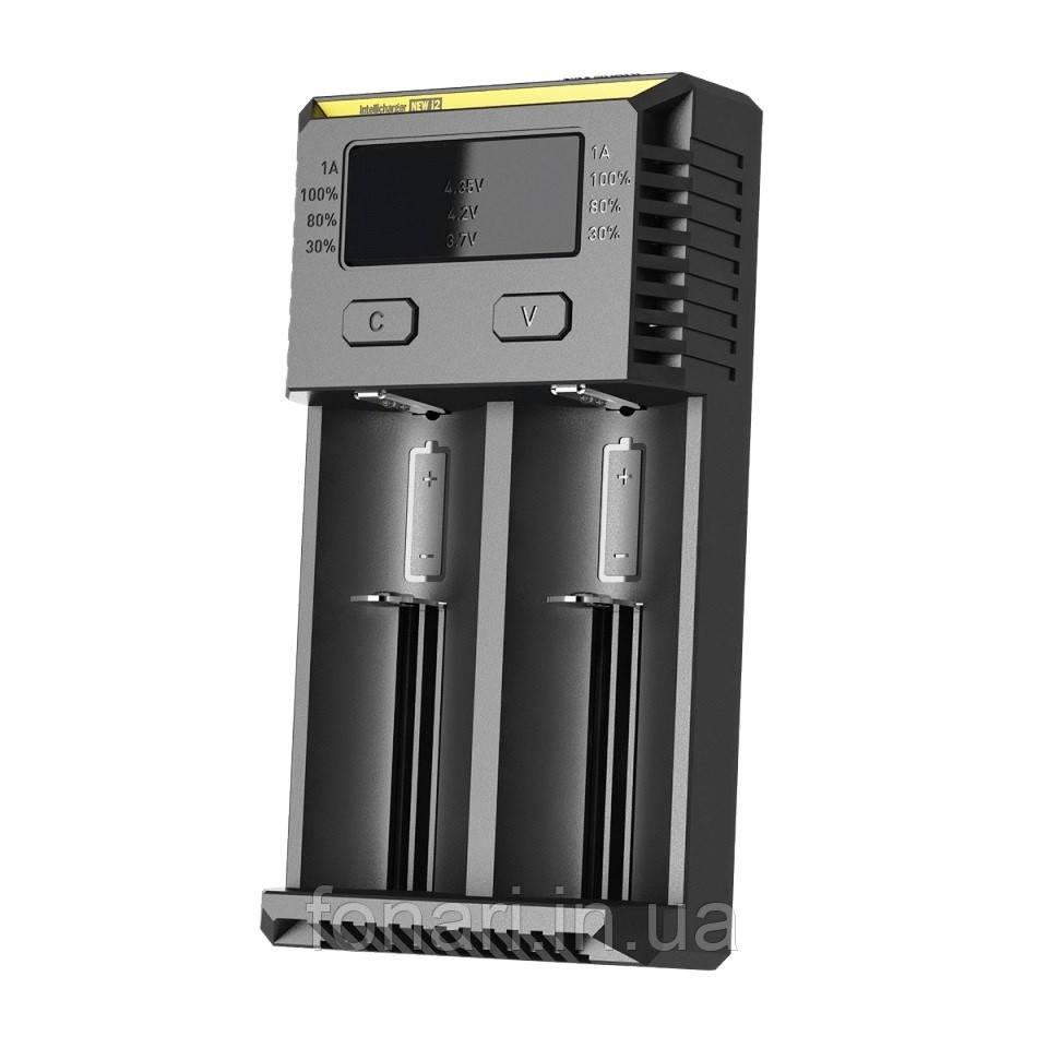 Nitecore Intellicharger i2 NEW - Зарядное устройство  для Li-Ion/Ni-Mh (Оригинал)