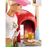Барби Повар Пиццерии Barbie Cooking & Baking Pizza Making Chef Doll & Play Set, фото 2