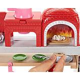 Барби Повар Пиццерии Barbie Cooking & Baking Pizza Making Chef Doll & Play Set, фото 5