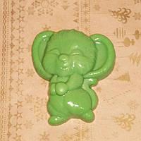 70 г. Зеленая мышка мыло ручной работы. Веселый сюрприз друзьям в сочельник