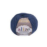 Пряжа Alize Lanacoton 279 джинс ( нитки для вязания Ализе Ланакотон, Ализе Лана Коттон)