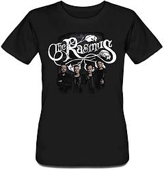 Женская футболка The Rasmus - Logo + Band (чёрная)