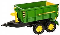 Прицеп для трактора John Deere зеленый Rolly Toys 125098