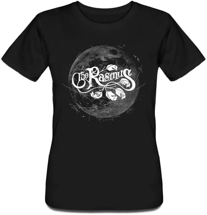 Женская футболка The Rasmus - Silver Night (чёрная)