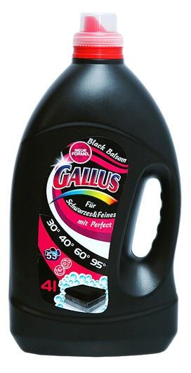 Гель для стирки Gallus Black Balsam, 4 л, для чёрного (53 стирки)