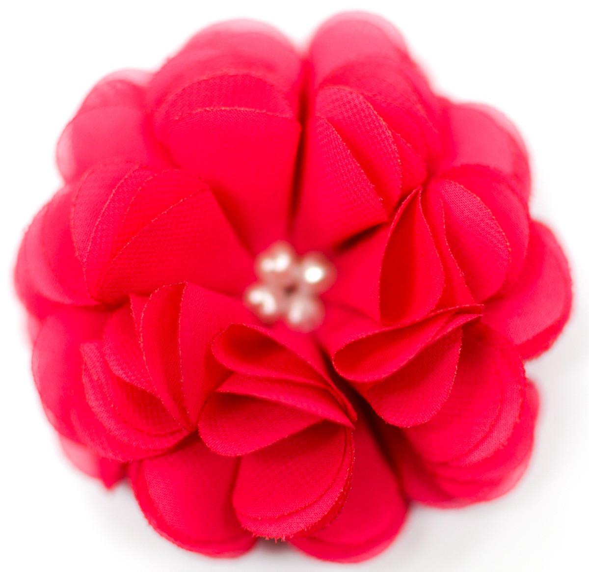 Малиновый краситель для цветов