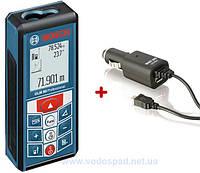 Дальномер лазерный Bosch GLM 80 + Автозарядное Micro USB