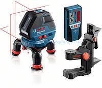 Линейный лазерный нивелир Bosch GLL 3-50+BM1+LR2 (L-boxx)