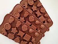 Форма  для шоколада Фигурки, фото 1